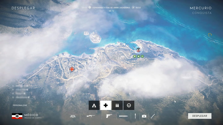 Gameplay de Mercurio, el nuevo mapa de Battlefield V