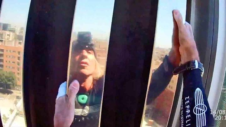 Fransk «spiderman» klatret 29 etasjer uten sikring