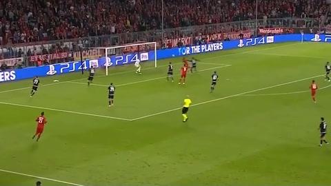 Bayern Munich 3 - 0 Estrella Roja (Champions League)