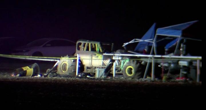 I det minste 8 injured after Texas race track crash
