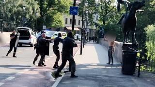 Politiet skyter med elektrosjokkvåpen