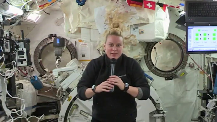 Happy Thanksgiving from space! Expedition 64 gives thanks