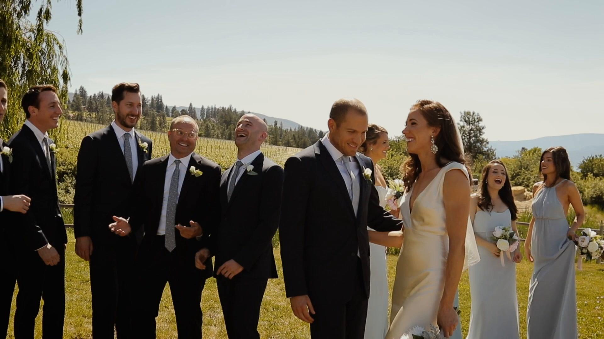 Nicole + Michael | Kelowna, Canada | Summerhill Pyramid Winery