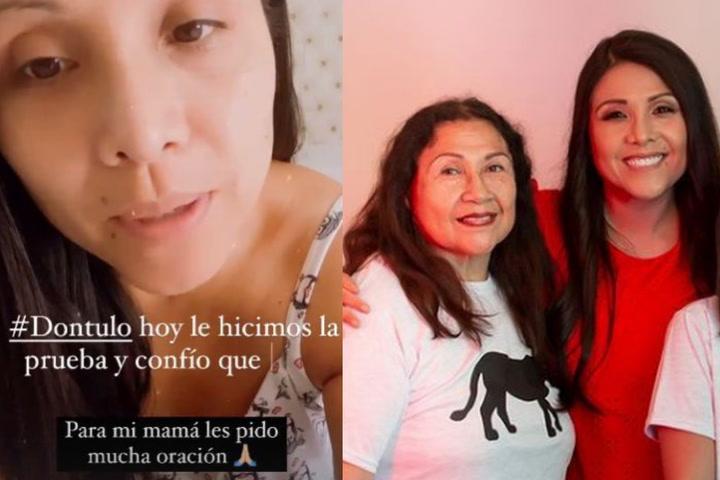 Tula Rodríguez pide oraciones para su mamita delicada con Covid-19