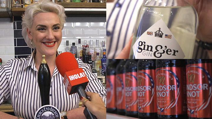 ¿Cerveza o ginebra? Descubre las propuestas más originales para brindar por Harry y Meghan