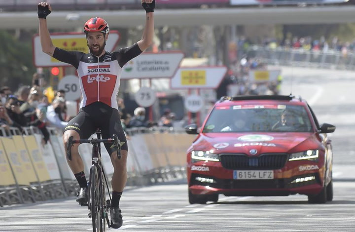 De Gendt se lleva la última etapa de la Volta