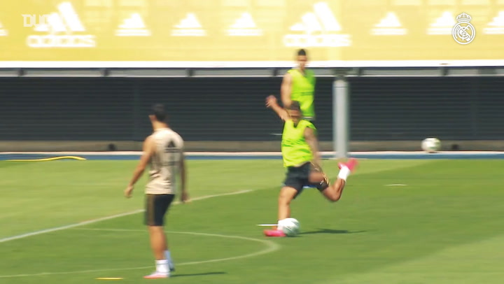 Real Madrid begin preparations for Espanyol clash