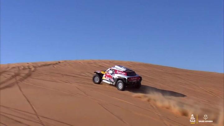 Resumen de la etapa 11 de coches del Dakar