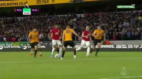 Wolverhampton 1 - 1 Manchester United (Premier League)