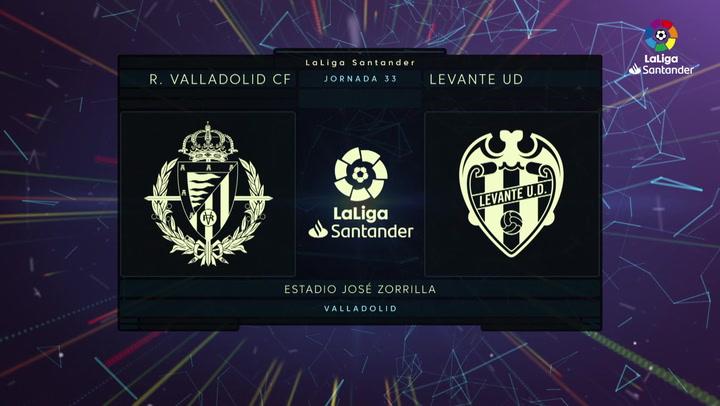 LaLiga Santander (Jornada 33): Valladolid 0-0 Levante