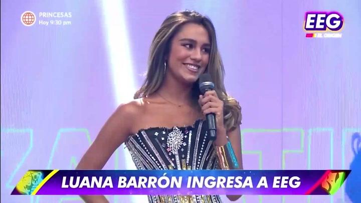 """Luana Barrón sorprendió con su retorno a """"Esto es Guerra"""""""