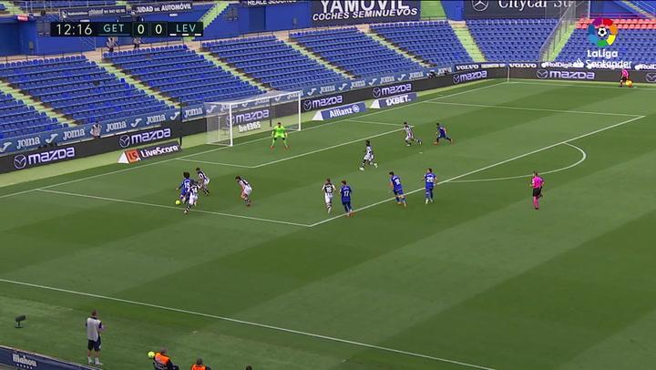 Gol de Aleñà (1-0) en el Getafe 2-1 Levante
