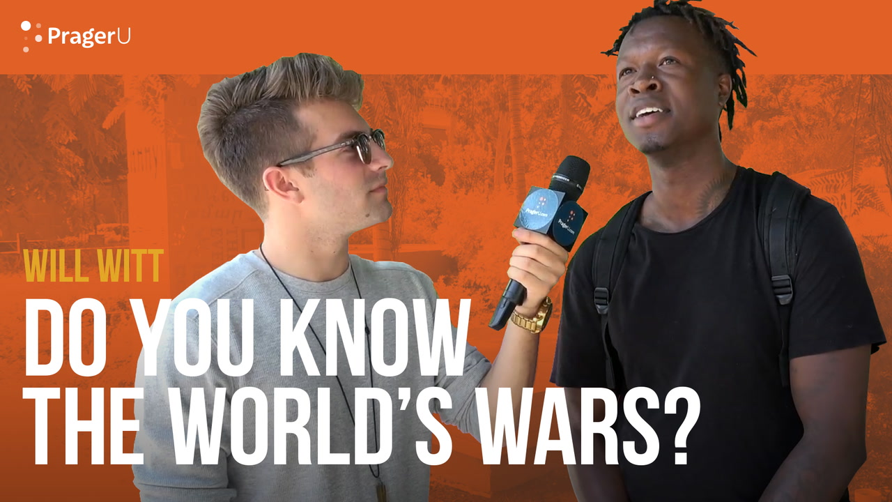 Do You Know The World's Wars?