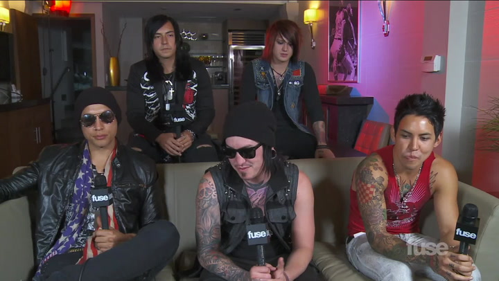 Interviews: Escape The Fate full interview