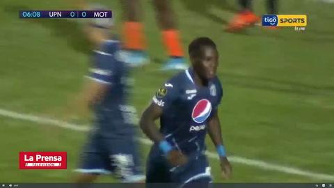 UPN 2-3 Motagua (Liga Nacional de Honduras)