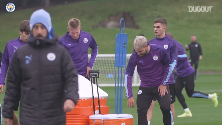 De Bruyne back in action in Manchester City training