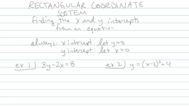 Rectangular Coordinate System - Problem 4