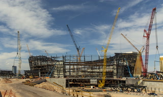 Stadium Show: Raiders Stadium On Schedule For Completion – VIDEO