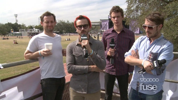 Festivals:Voodoo:Are Portugal. The Man Working on New Music or What? - Voodoo 2011