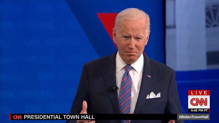 Biden: 'I Don't Have a Near-Term Answer' on Gas Prices, They'll Start Decreasing 'Into Next Year'