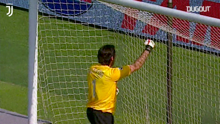 Buffon's stunning double save denies Bologna