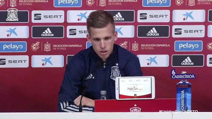 """Dani Olmo: """"Croacia mostró interés pero quería jugar con España"""""""