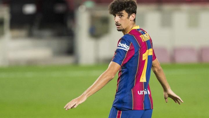 ตัวเลขของ Trincao กับ FC Barcelona