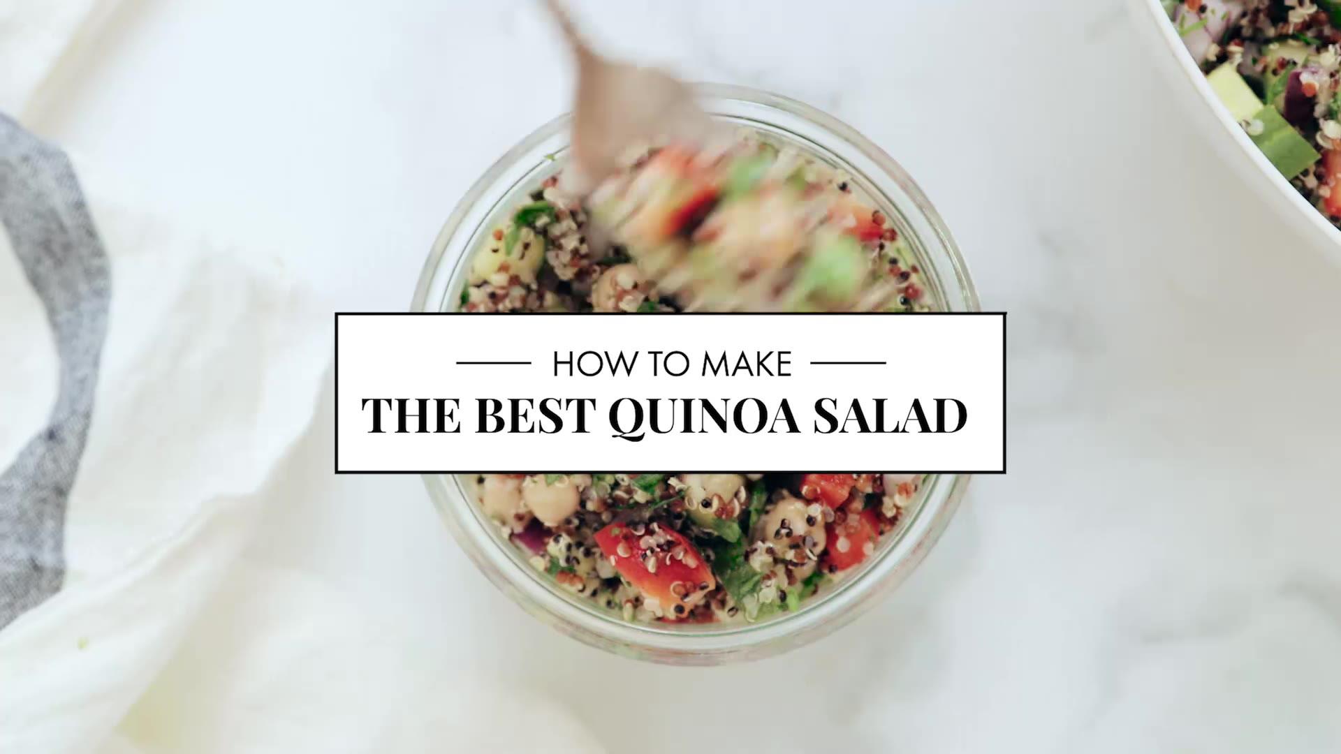 Favorite Quinoa Salad Recipe - Cookie and Kate