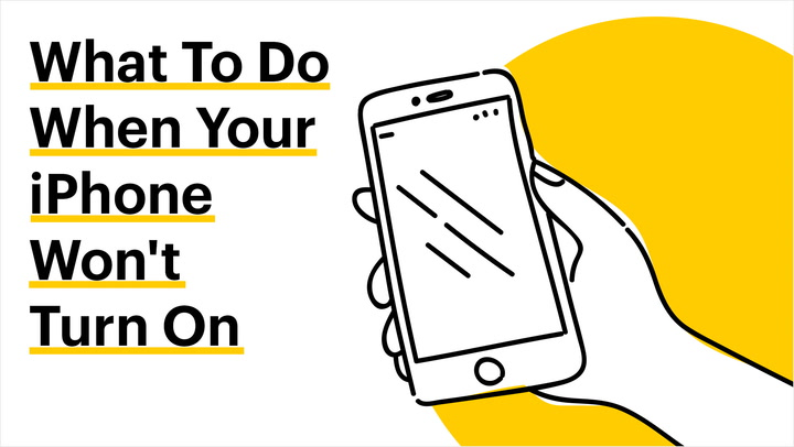 What To Do When Your iPhone Won't Turn On