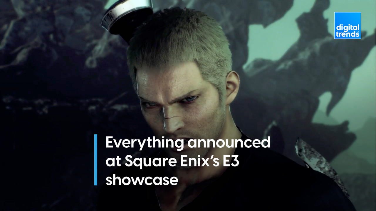 Everything announced at Square Enix's E3 showcase