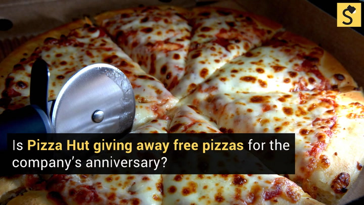 pizza hut 50th anniversary