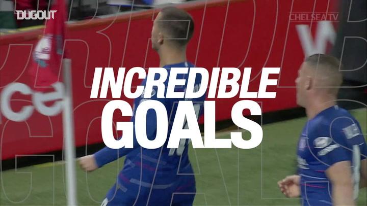 Incredible Goals: Eden Hazard's Solo Goal Vs Liverpool