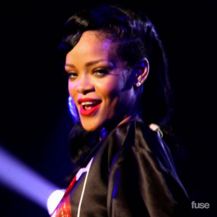 Rihanna Kissing A$AP Rocky?