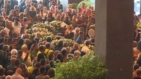 Génova despide a las víctimas del derrumbe del puente y pide justicia