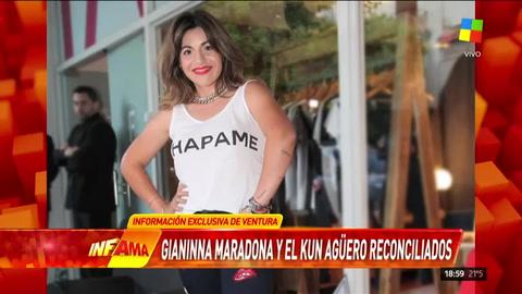 Bomba de Ventura: Gianinna Maradona y Agüero
