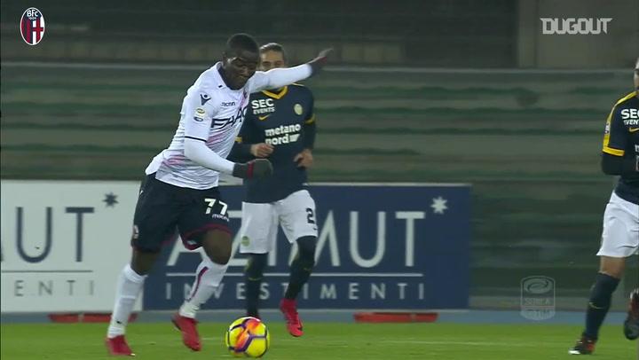 Godfred Donsah's Bologna goals