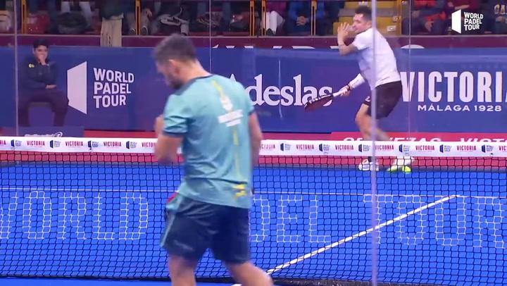 Resumen de la semifinal masculina Stupa/Mati Vs Silingo/Allemandi del Cervezas Victoria Córdoba Open