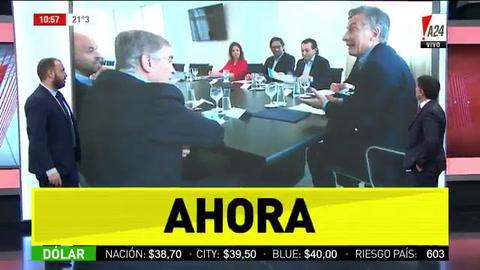 Recién llegado de EEUU, Macri encabezó una reunión de gabinete