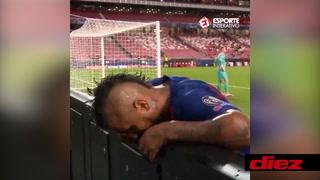 El video más doloroso de Vidal: así fue captado durante la paliza que le estaba dando el Bayern al Barcelona