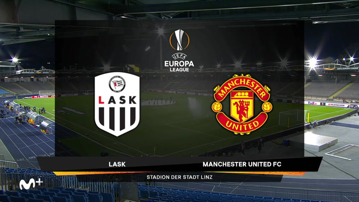 Europa League Resumen del LASK-Manchester United