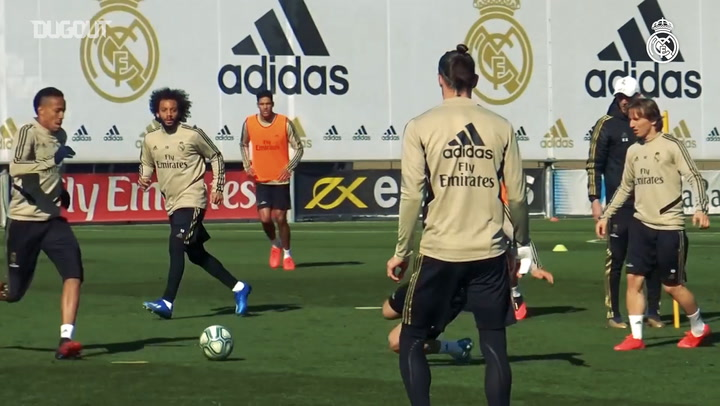 Real Madrid continue preparations for Levante clash