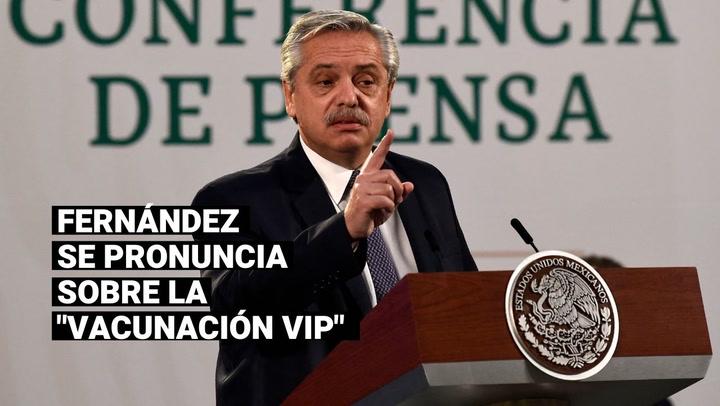 """Alberto Fernández da por cerrado el escándalo de las vacunas en Argentina: """"Terminemos con la payasada"""""""