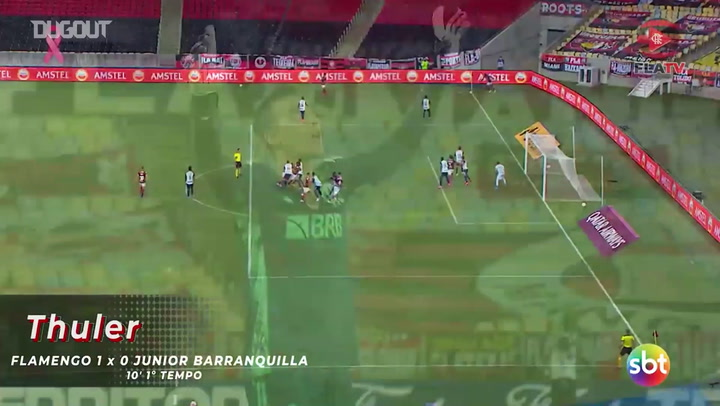 Flamengo beat Junior Barranquilla at Maracanã