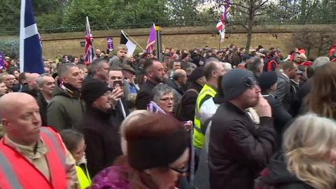 Británicos, divididos por Brexit antes del voto del parlamento