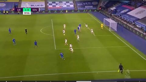 Leicester 2-0 Southampton (Premier League)