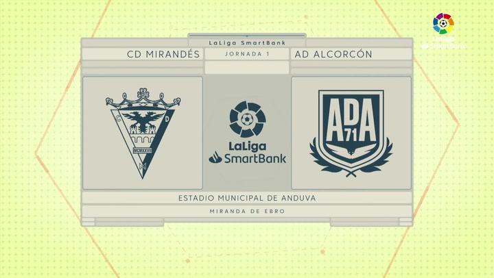 LaLiga SmartBank (J1): Resumen del Mirandés 0-0 Alcorcón