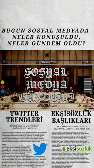 Sosyal medyayı sallayanlar - 13 Nisan