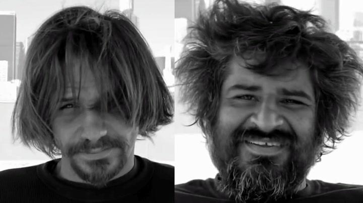 Se de hjemløses utrolige forvandling
