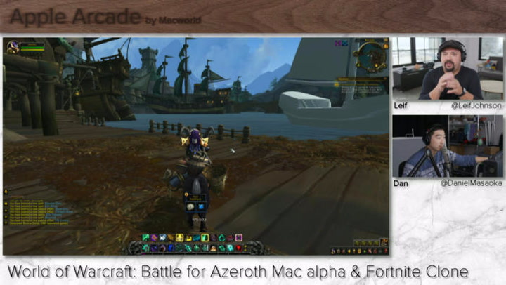 World of Warcraft: Battle for Azeroth on Mac (and maybe Fortnite