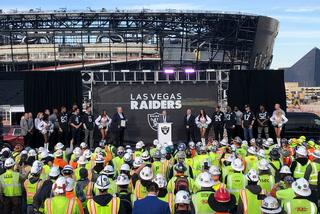 Raiders officially Las Vegas Raiders